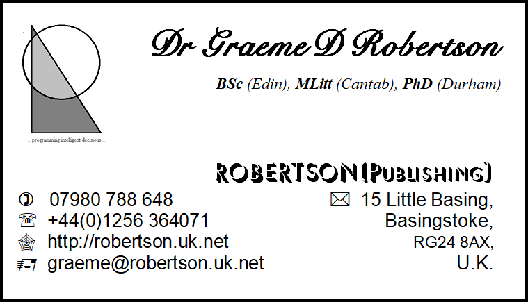 ROBERTSON(Publishing)
